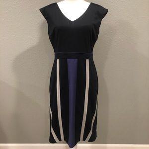 Antonio Melani Sheath Dress in Navy Size 8